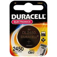 Duracell DL 2450 Battery CR2450 Li
