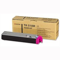 Original Kyocera TK 510M Magenta Toner Cartridge