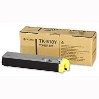 Kyocera TK-510Y Yellow Laser Toner Cartridge