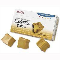 Xerox 8500 8550 Yellow Ink Sticks 108R00671 Pack 3