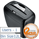 Fellowes Powershred P-35C Shredder Cross Cut DIN P-4