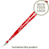 10mm lanyard 35447 - Customise with your brand, logo or promo text