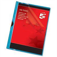 A4 Clip Folder Blue Pack 25 5 Star