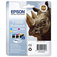 Epson Rhino T1006 Ink Cartridge Pack 3 Multi Pack