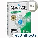 Navigator Universal A3 80gsm White Printer Paper Ream of 500 Sheets