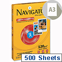 Navigator A3 120gsm White Ultra Smooth Printer Paper Ream of 500 Sheets