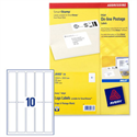 Avery J5103-25 Smartstamp Postage Labels Inkjet Logo 10 per Sheet 250 Labels