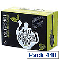 Clipper Fairtrade Golden Blend Everyday Tea Bags A06816 Pack 440