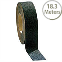 COBA Anti Slip Abrasive Grit Tape 50mm x 18.3m Black Mat Self Adhesive