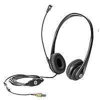 HP Business Headset v2 - Headset - full size - wired - for HP 290 G1; EliteDesk 705 G3, 800 G2; EliteOne 1000 G1; ProDesk 600 G2; ProOne 600 G2