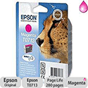 Epson T0713 Magenta Ink Cartridge Cheetah Series