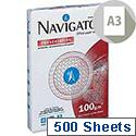 A3 White Presentation Premium Paper 100gsm 500 Sheets Navigator