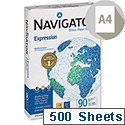 Navigator Expression A4 White Inkjet Printer Paper Extra Smooth 90gsm (500 Sheets) Ref NAV0321
