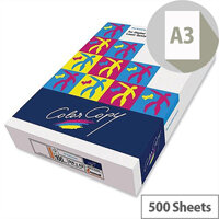 Color Copy A3 100gsm White Smooth Copier Paper Ream of 500 Sheets