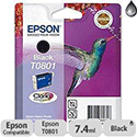 Epson T0801 Black Ink Photo Cartridge