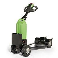 Electric Drive Power Tugs With Ride-On Platform Capacity 1000kg