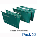 Crystalfile Classic Foolscap Suspension File Pack 50