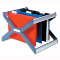 Rexel Crystalfile Extra Desk Organisa Frame for 30 Suspension Files A4 or Foolscap 3000103