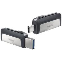SanDisk Ultra Dual - Reversible USB Flash Drive - 32 GB - USB 3.1 - Ultra Fast USB-C 150Mb Per Second