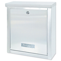 Rottner Brighton Mail Box Opening Suitable for A4 Documents W400xD155xH310mm White T04505