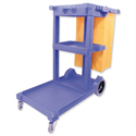 Mobile Janitorial Multifunctional Cleaning Trolley