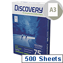 Discovery Everyday A3 75gsm White Printer Paper Ream of 500 Sheets