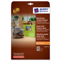 Avery L7110-20 Brown Kraft Product Labels Rectangular 18 per Sheet 360 labels