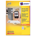 Avery L7120-20 White Opaque QR Code Label Square 35 per Sheet 35x35mm 700 labels