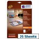 Avery C32290-25 Brochure Paper A4 folds to DL brochure format White 99 x 210mm 25 Sheets