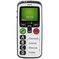 Doro Secure 580 White 3G GSM Mobile Phone