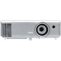 Optoma W344 DLP Multimedia Projector High Definition 720p 3100 ANSI Lumens WXGA 1280 x 800 Portable 3D