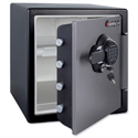 Sentry Fire Water and Security Safe Electronic Lock and Key 33.6 Litre W415xD491xH453mm Ref SFW123GTC