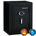 Sentry Office Black Fire and Water Resistant Safe