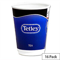 Nescafe & Go Tetley Tea Foil-sealed Cup for Drinks Machine Ref 12154583 [Pack 16]