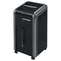 Fellowes 225i Shared Workspace Shredder Strip Cut DIN P-2