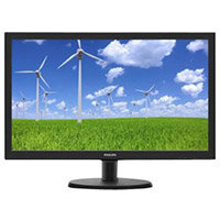 Philips S-line 223S5LSB LED Computer Monitor Full HD 1080p 22in