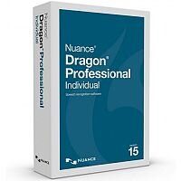 Dragon Professional Individual 15 Full License - Electronic Software Download SN-K809Z-W01-15.0