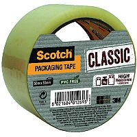 Scotch Classic Packaging Tape 50mm x 50m Clear CL.5050.S.T