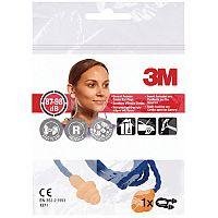3M Corded Reusable Ear Plugs 25dB