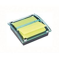 Post-it Z Notes Millenium Dispenser with Super Sticky Lined Pad 101x101mm Yellow DS440-SSCYL-EU