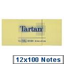 3M Tartan Repositionable Note 38x51mm TN3 12 x 100