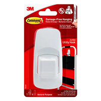 3M Command Jumbo Hook with Command Strips 17004