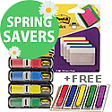 Post-it Small Index & Strong Index Tabs Plus FREE Index Arrows
