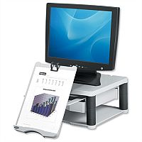 Fellowes Monitor Riser 21in Capacity 36kg Grey