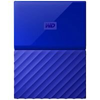 WD My Passport WDBYFT0020BBL External Hard Drive 2 TB USB 3.0 Blue