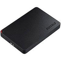 BUFFALO MiniStation HD-PCF1.0U3BD-WR External Hard Drive 1 TB USB 3.0
