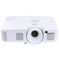 Acer X137WH DLP multimedia Projector Portable 3D High Definition 720p 3700 Lumens WXGA 1280 x 800