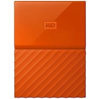 WD My Passport WDBYFT0020BOR External Hard Drive 2 TB USB 3.0 Orange