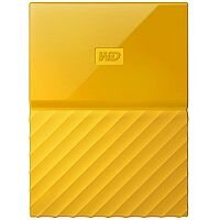 WD My Passport WDBYFT0020BYL External Hard Drive 2 TB USB 3.0 Yellow