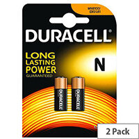 Duracell MN 9100 Camera Battery N Alkaline x 2